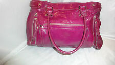 LONGCHAMP LEGENDE Hot Pink Patent Leather   Tote Handbag
