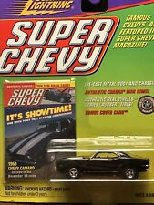 "2000 Johnny Lightening 1969 Chevy Camero Super Chevy ""Meg"" Rims"