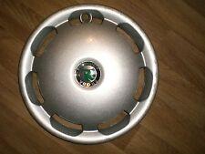 "15""  Skoda fabia octavia wheel trim hub cap wheel cover, genuine, one"