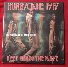 Hurricane Fifi, keep her on the move / do you want me mon cheri , SP - 45 tours