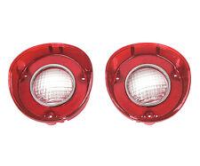 1972 Chevy Chevelle Back-Up Lamp Light Lenses / Pair (Right & Left)  TU72AN