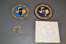 Department of Public Safety Motorcycle Operator Badge, Pin, Stickers, Decals New