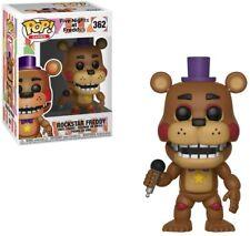 FUNKO POP Vinilo Figura-Rockstar Freddy! #362 - Five Nights At Freddy' - antiguos