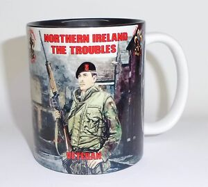 Kings Regiment NI Mug Kingos Mug Op Banner Northern Ireland Veteran