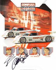 2004 Ganassi Racing Lexus DP signed Grand Am postcard Pruett Papis