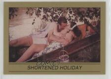 1993 Eclipse James Bond 007 Series 1 #28 Shortened Holiday Non-Sports Card 0w6