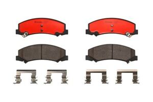 Brembo Front Ceramic Soltted Brake Pad Set For Buick Cadillac DTS Chevy Impala