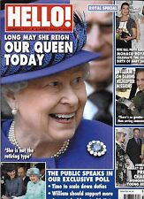 Hello magazine Queen Elizabeth Prince William Monaco royals Nicole Kidman