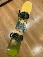 New listing Kids Youth Burton Motion 146cm Snowboard & Bindings in Excellent Used Condition