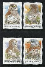 Hungary 3348-51 MNH Birds:1992.Saker Falcon Booted Eagle Red Kite  x18992