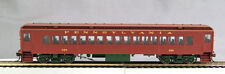 HO mP-54 Pre WWII Pennsy Coach #432 Brown roof, Light Tuscan sides, olive trucks