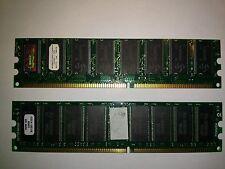 512mb 2x256 ddr desktop pc memory matched pair