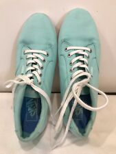 VANS Canvas Sneakers Womens Size 8 Mint Green Not Sure of Style