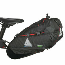 AXIOM MONSOON OCEANWEAVE CITYPACK P12+ Saddle Bag 12L 732ci Bike Packing Charity