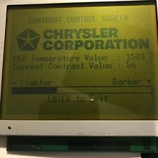 OPTREX DMF-50082N LCD DISPLAY ASSEMBLY FOR USE IN DRBIII DRB 3