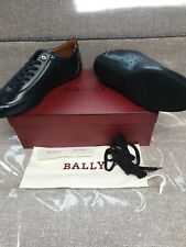 Bally Halvin New Blue Calf Plain Sneakers Size9