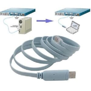 USB to RJ45 Console Adapter Cable for Cisco Routers FTDI