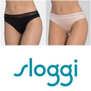 Sloggi Women's Wow Lace Tai Briefs Knickers 10149137 RRP £14