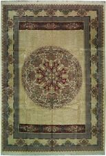 One Of a Kind 10x14 Handmade Fine New Rug FRENCH Design
