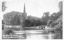 Stratford on Avon Home of Shakespeare River Boat Bridge