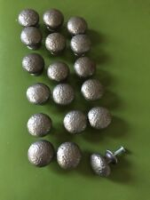 Hammered Drawer Pulls Forged Heavy 18 Silver Kitchen Hardware Home