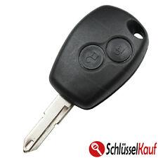 DACIA Autoschlüssel Duster Logan Sandero 2 Tasten Fernbedienung Gehäuse Key Cle