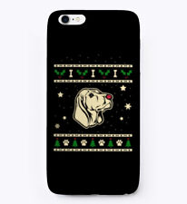 Christmas Black And Tan Coonhound Gift Phone Case iPhone