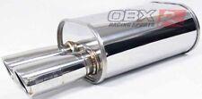 "OBX / Forza Universal Muffler HR15 3.0"" Honda Civic Accord Prelude All Car"