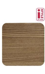 Set of 4 Natural Wood Veneer coasters Pack Of 4 Coasters Natural Barware Modern