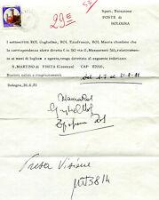 DISPOSIZIONI CAMBIO INDIRIZZO -  CASTELLI £.700 ISOLATO (277485)