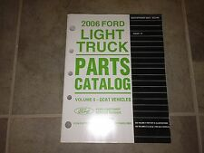 2006 Ford Ranger Truck Factory Parts Catalog Manual XL XLT Sport STX FX4