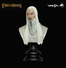 Sideshow/Weta LOTR Saruman the White Two Towers 1/4 Scale Polystone Bust