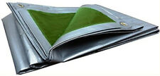 Lona Toldo con Ojales Impermeable Alta Calidad 133g/m Verde 3 x 4 Metros