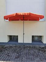 SIENA GARDEN Sonnenschirm TROPICO 210x140cm Orange Schirm Gartenschirm