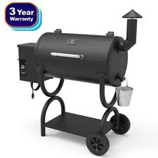 550SQ. in Wood Pellet Smoker BBQ Grill and Electric Pellet with Digital Controls