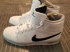 NIKE PRESTIGE IV HIGH MENS BASKETBALL SHOES WHITE BLACK Sneakers Size 12