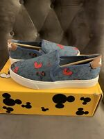 Disney X Aldo True Original Sneaker Mickey Mouse Denim Blue 7.5