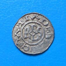 Carolingiens Charles II le chauve OBOLE Quentovic cité disparue