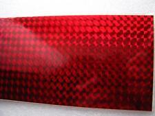 selbstklebende Reflexfolie 2 Bögen rot