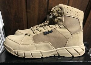 New FREE SOLDIER Mens Tactical Combat Desert Boots Sand/Tan Mens Size 11.5 Look!