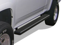iStep 5-inch Black Running Boards 04-12 Chevy Colorado/GMC Canyon Extended Cab