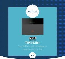 MODEM ZTE TIM HUB + PLUS 2020 WIFI 6 ZXHN H388X 4×4 MU MIMO ADSL FIBRA 1000 MEGA