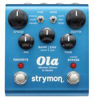 Strymon OLA dBucket Chorus & Vibrato Guitar Effects Stompbox Pedal