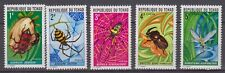 """Chad - 1972 """"Insects and Spiders"""" (MNH)"""