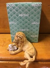 Enesco 1987 Peace On Earth Lion With Lamb Figurine 109525. NIB