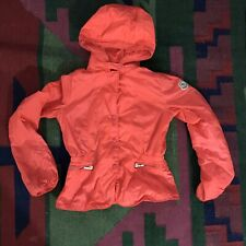 Authentic Moncler Girl Jacket 10 Pink Coral FLAWS