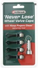Richbrook Never Loose Wheel Tyre Car Vehicle Air Valve Dust Caps Anti Theft