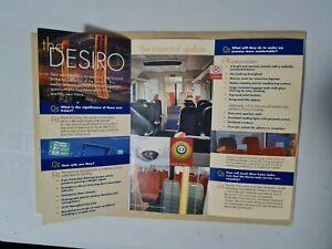 South West Trains New Desiro Class 450 Trains (Not British Rail) Leaflet N2.13