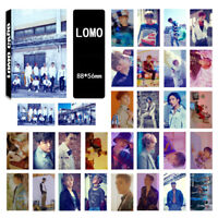 30pcs Set Kpop SUPER JUNIOR Time_Sli Album LOMOCARDS SJ Lomo Card