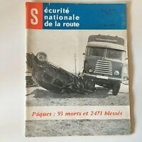Revista Seguridad Nacional de La Carretera N º 67 Mai 1960 Región Centro
